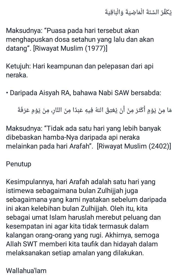 Kapan Puasa Arafah 2016 : kapan, puasa, arafah, Riduan, A.dullah, Twitter:, Kelebihan, Arafah., Sebarkan., Sumber:, Mufti, Wilayah…