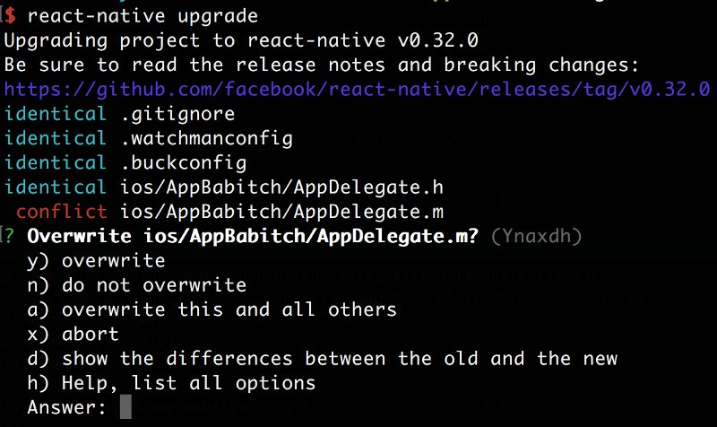 Make #ReactJS Native upgrades easier with rn-diff: