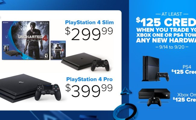 Can I Trade In An Xbox One For A Ps4 At Gamestop