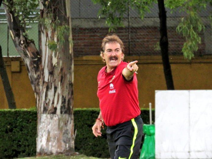 Ricardo La Volpe con el América