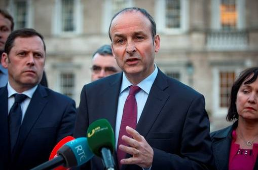 Image result for Micheál Martin claims the elimination of water charges would not erode the tax base