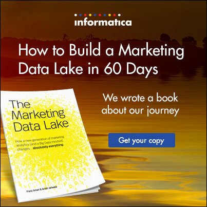 How to Build a Marketing Data Lake in 60 Days  #BigData @Strataconf