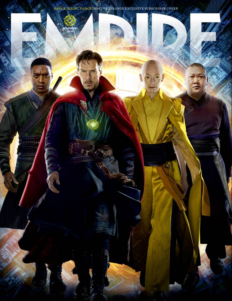 New Doctor Strange Photos & Empire Cover Revealed 3