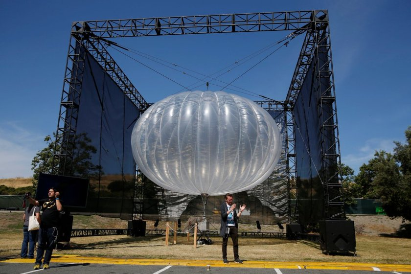 Google internet balloon uses #AI to stay in place for weeks     #fintech @engadget @jonfingas
