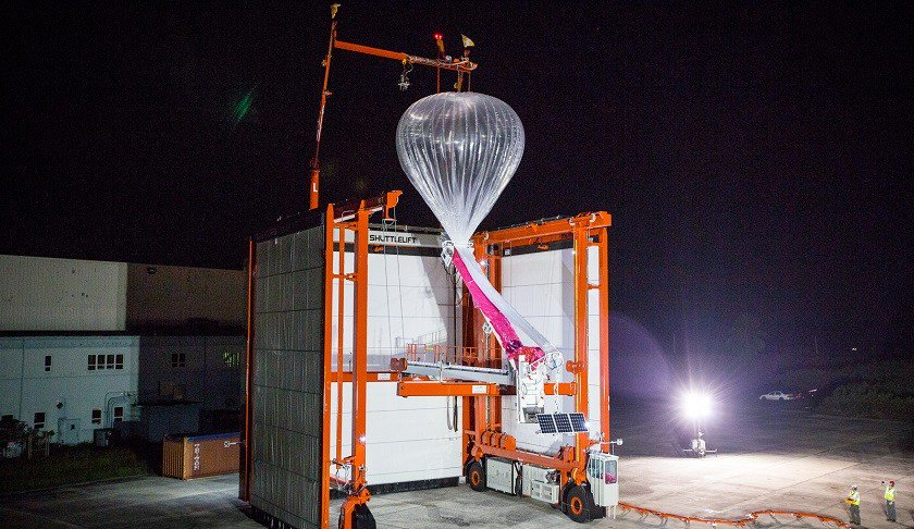 Artificial intelligence takes to the skies with Project Loon