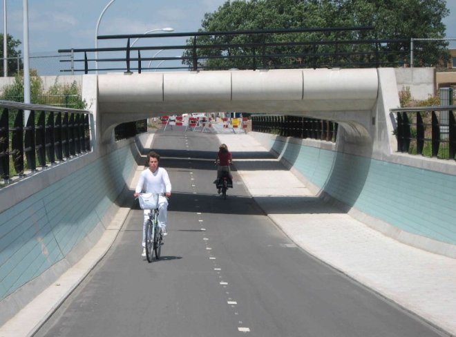 Garantizar la seguridad y el placer de viajar en bicicleta