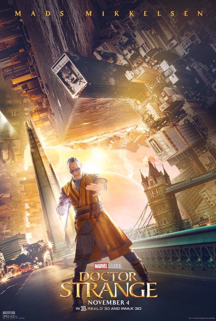 New Doctor Strange Character Posters Revealed 3