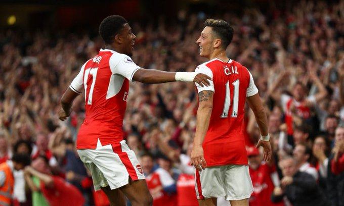 Image result for Alex Iwobi is a mixture of Jay-Jay Okocha and Edgar Davids – Mesut Ozil