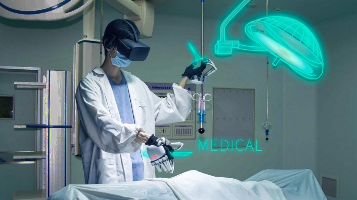 A haptic glove so precise a surgeon could use it for training in virtual reality  #vr