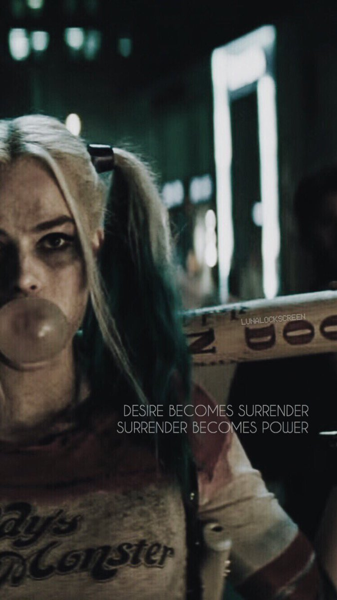 Harley Quinn Lockscreen : harley, quinn, lockscreen, Lockscreen🌙, Twitter:,