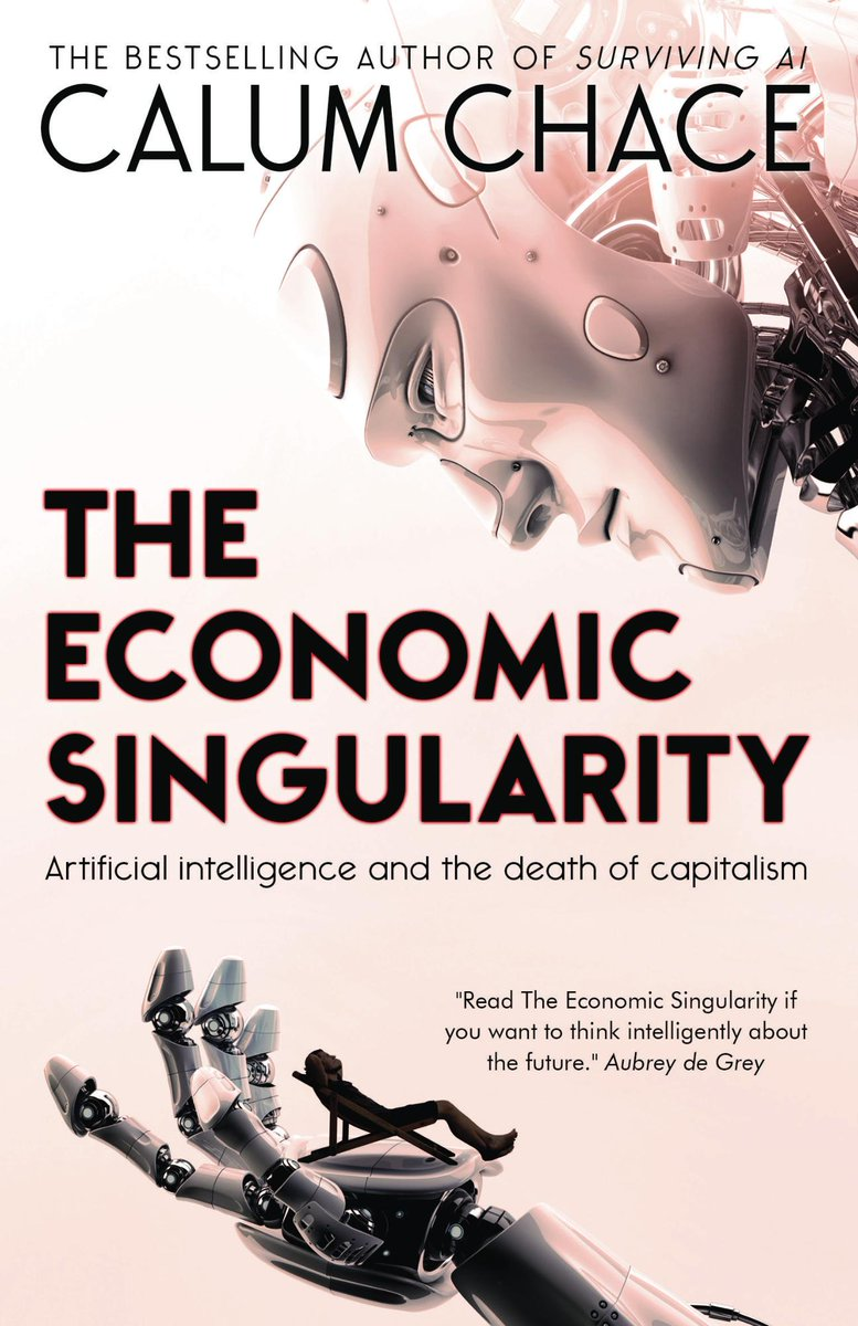 "#TheEconomicSingularity: ""I highly recommend this book."" Mike Johnston, @RobotOverlordz"