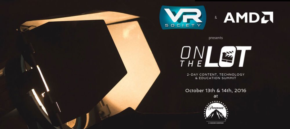 Tickets still available for VR on The Lot next week. #VR