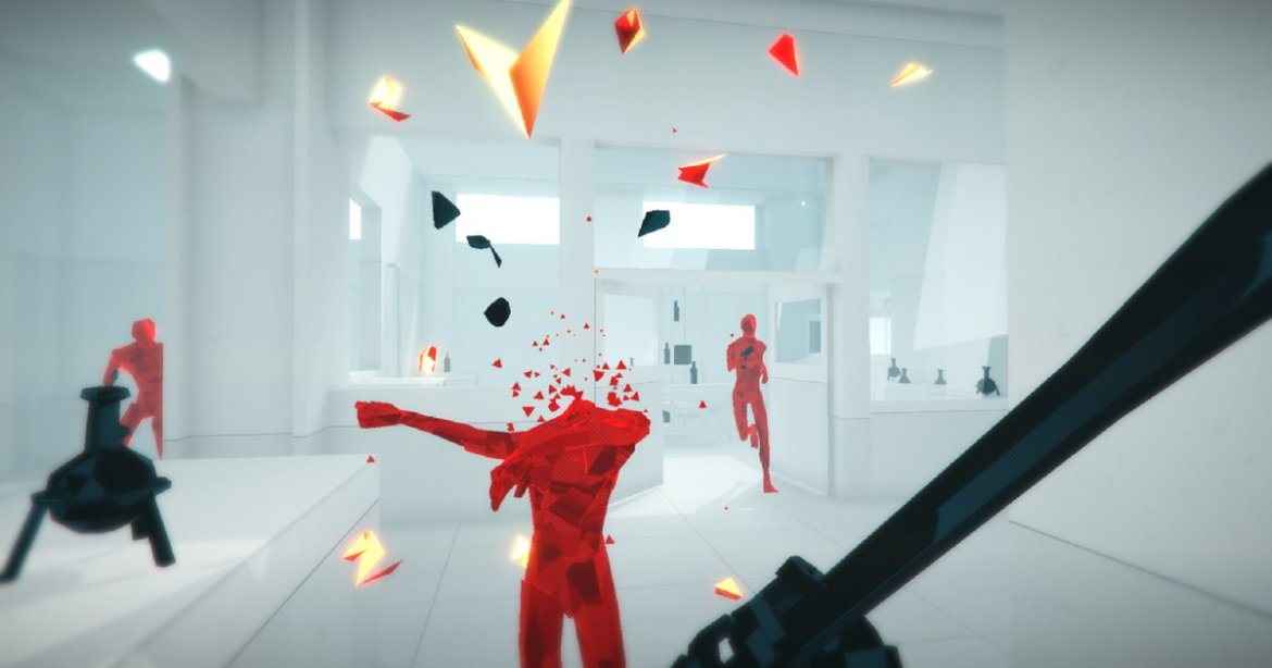 'Superhot #VR' feels like a time bending, action-packed puzzle