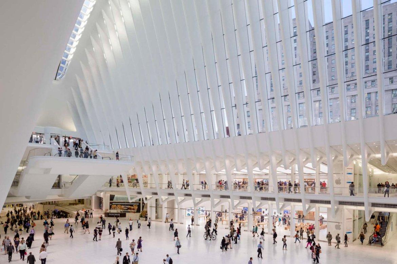 New York's latest Apple store opens in Calatrava's Oculus