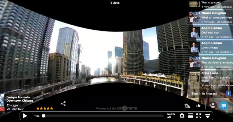 #Georama's Live #VirtualReality Platform Lets You Explore The World From Your Sofa | #VR ▷