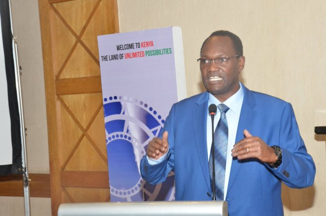 Image result for Chris Kiptoo, Principal Secretary in the State Department of Trade
