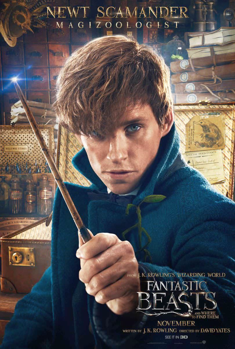 Fantastic Beasts and Where to Find Them Character Posters Revealed 1