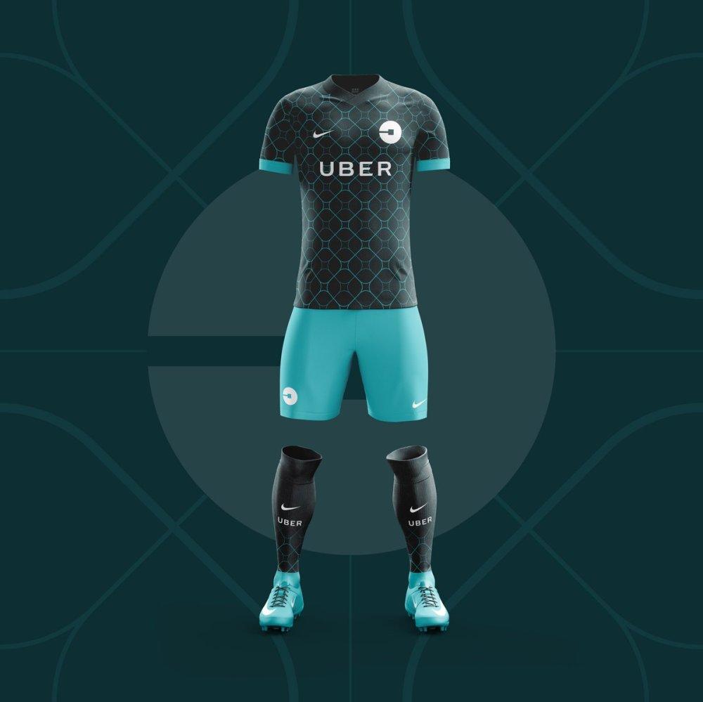 Uniforme del Equipo Uber
