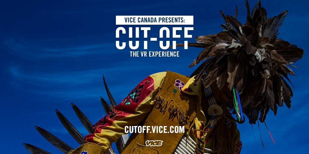 Experience @vicecanada's new #VR documentary 'Cut-Off'. Available now on #Viveport: