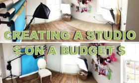 Creating A Photography Studio On A Budget - DIY Photography -