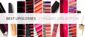 BEST LIPGLOSSES | HOLIDAY 2016 GIFT GUIDE: temptalia bbloggers lipgloss makeup