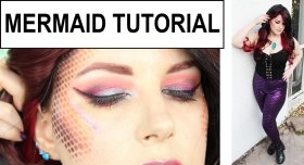 Sideshow Mermaid Tutorial sugarpillmakeup crueltyfree beauty