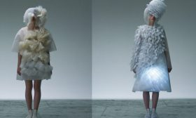These Hypnotic Dresses Respond To Ambivalence FashionTech Fashion