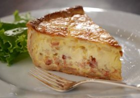 Jen\'s Quick and Hearty Quiche Lorraine Recipe