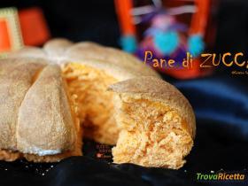 Pane di zucca per la tavola di HalloweenRicetta qui: