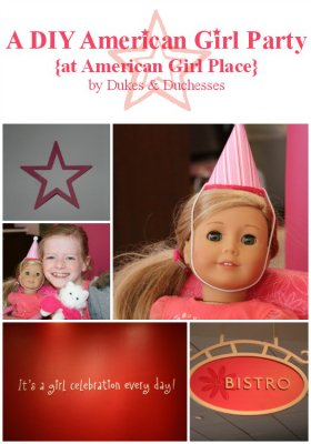 Add DIY details to your American Girl party! americangirl