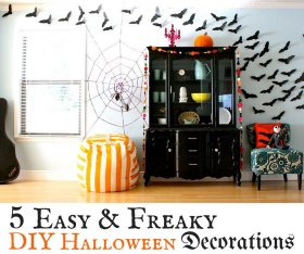 Loving these freaky DIY HalloweenDecorations The_W_Stylist