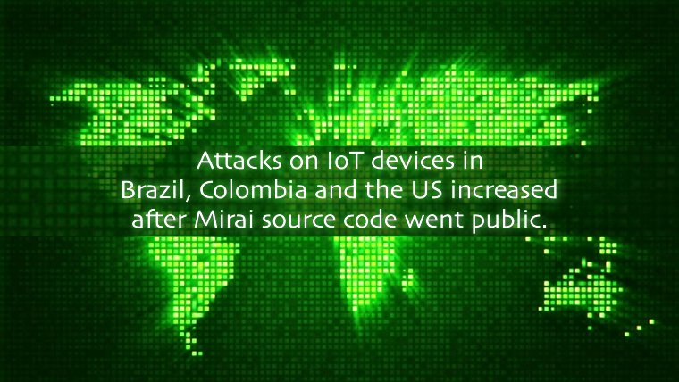 Hackers are increasingly targeting #IoT Devices with #Mirai DDoS Malware |  #DDoS, #Malware