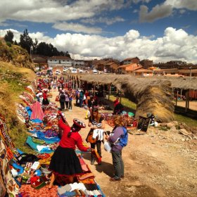 Wanted alpaca but now wearing llama? Savvy Peru shopping tips from TravelTalesLife learned the hard way