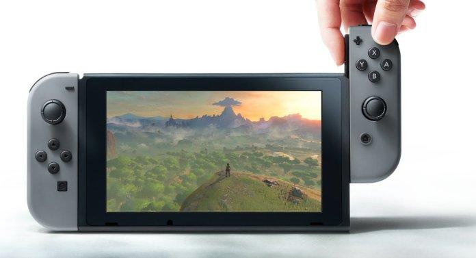 Nintendo Switch, consola portátil