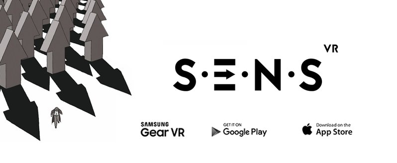 Our VR game @sensvr is now live on @oculus store for Gear #VR !!! This way ➡ ➡ ➡