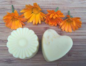 Calendula Lotion Bars - calendula lotionbars diy herbalism