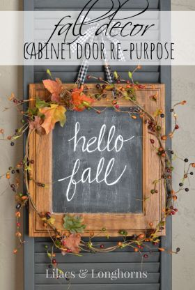 Welcome autumn with this DIY Repurposed Fall Dcor {Hospitality Filled Homes}