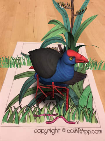Augmented Reality Coloring Pages from @QuiverVision #ipaded #androided #ScannableTech