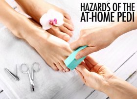 When your at-home pedicure goes REALLY wrong: beware oops nailstyle manicure diy
