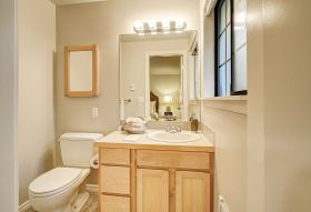 DIY: Refresh Your Bathroom With a New Sink and Vanity: DIY realestate bathroom
