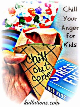 Chill Your Anger for Kids tutorial and activity
