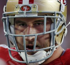 Joe Staley is available, The trade window closes on Tuesday,November 1 at 4:00 p.m. ET