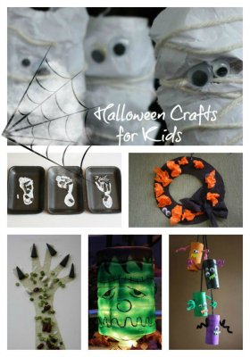 Candy season is HERE & Trick-or-Treat. Halloween Crafts for Kids!
