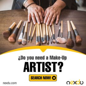 Do you like to change your look? Find an artist here:makeup artist beauty nexdu