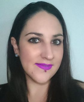 Recent makeupoftheday focused on a statement lip - stilacosmetics Como! bbloggers fotd