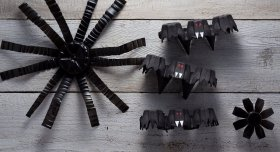 Decorating for Halloween? Here are some creepy-cool ideas for ecofriendly crafts: