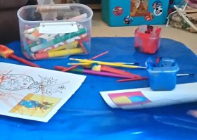 Ideas to keep the little ones entertained!lowcost crafts children halftermactivities