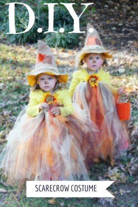 19 Fun Homemade Halloween Costumes for Ages 2-5 halloweencostumes diy crafts