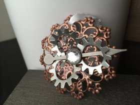 Steampunk Christmas Ornament - Steampunk Accessories Christmas.. craftshout fashion