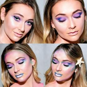 Halloween 2016: Mermaid Makeup Tutorial: halloween makeup halloween2016 beautytips